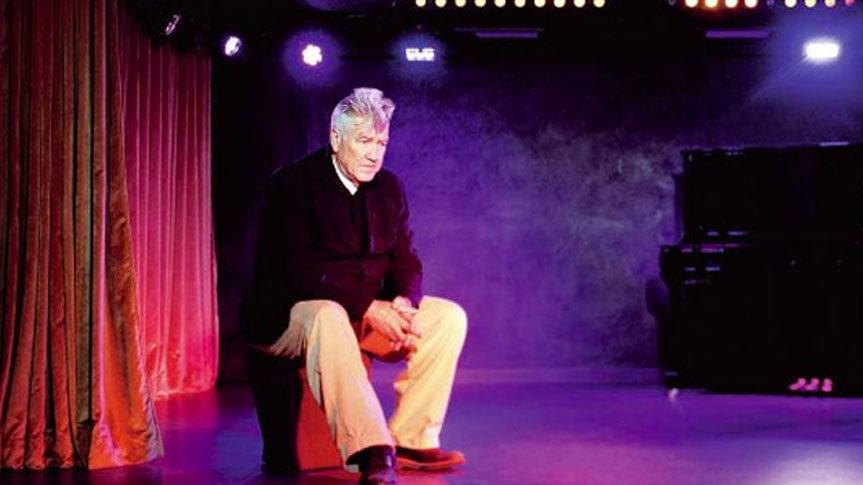 Photo David Lynch au Silencio Paris
