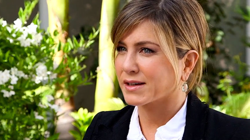 Photo Jennifer Aniston interview People sur beauté et Méditation Transcendantale