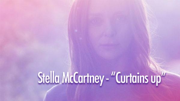 Photo de Stella McCartney pour Curtains up et Méditation Transcendantale