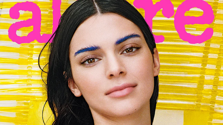 Photo Kendall Jenner pour magazine Allure et Méditation Transcendantale