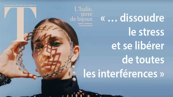 Photo Delfina Delettrez pour Méditation Transcendantale