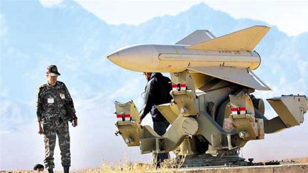 Photo montrant l'armement militaire missiles de l'Iran