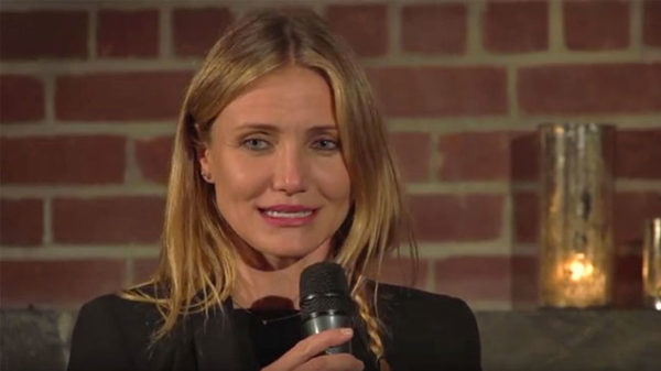 Photo interview Cameron Diaz pour la Méditation Transcendantale