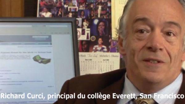 Photo Richard Curci, principal du collège Everett à San Feancisco