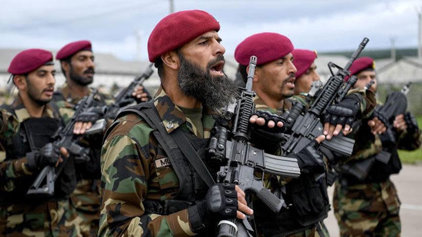 Photo armée du Pakistan pour Méditation Transcendantale