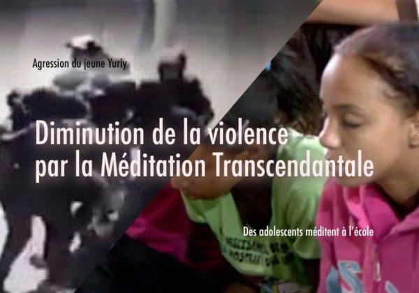 La Méditation Transcendantale pour réduire la violence chez les adolescents…