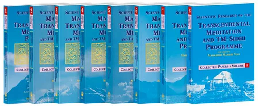 Plus de 600 rechreches scientifiques sur la Méditation Transcendantale - Collected Papers