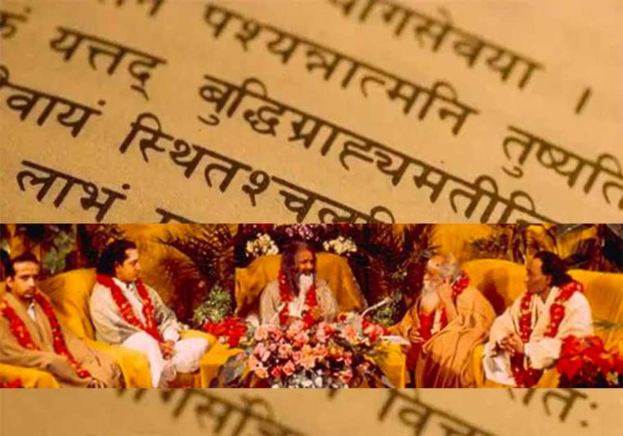 Science védique Maharishi - Pandits védiques