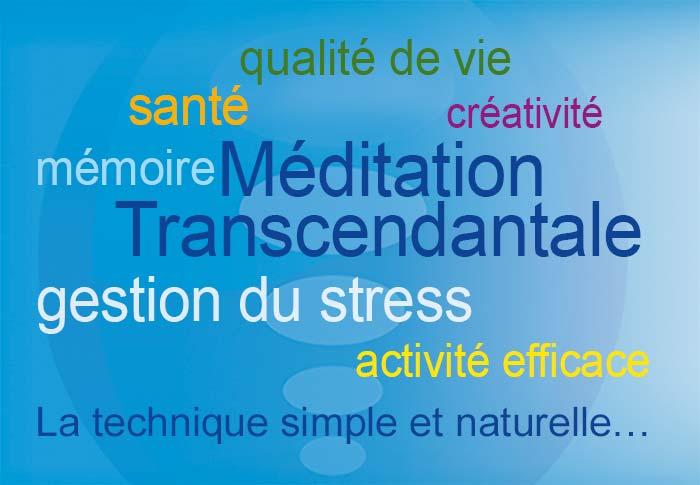 Schéma des bienfaits de la pratique de la technique de Méditation Transcendantale