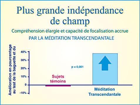 Méditation Transcendantale et compréhension élargie - Graphiqie