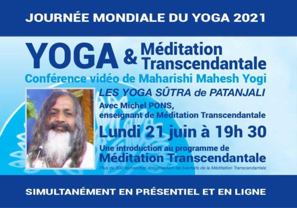 Méditation Transcendantale et Journée mondiale du Yoga…
