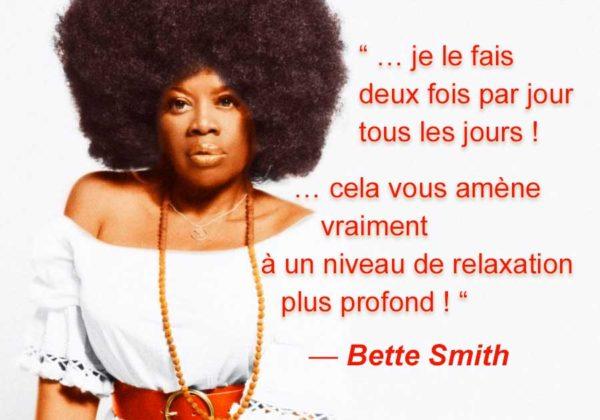 Méditation Transcendantale par Bette Smith…